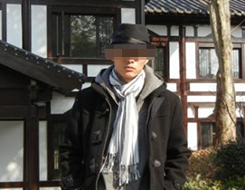 张先生 男 30岁 模特